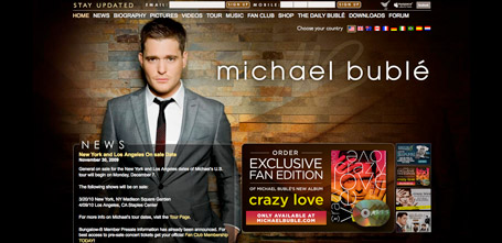 Michael Buble Drupal